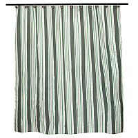 Kenney Simple Stripe PEVA Shower Curtain Liner