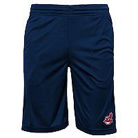 Boys 8-20 Cleveland Indians Mesh Shorts