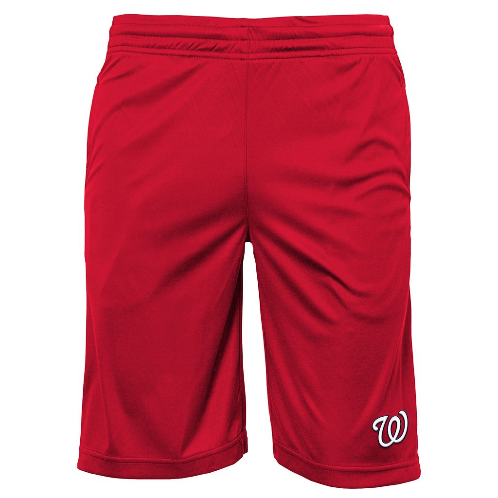 Boys 8-20 Washington Nationals Mesh Shorts