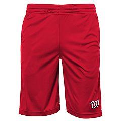 Boys 8-20 Washington Nationals Mesh Shorts