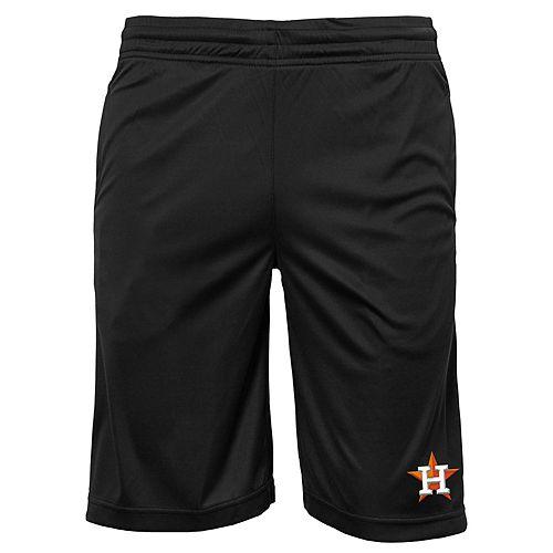 Boys 8-20 Houston Astros Mesh Shorts