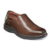 Nunn Bush Myles St. Men's Moc Toe Slip On Dress Shoes