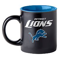 Boelter Detroit Lions 14-Ounce Matte Coffee Mug