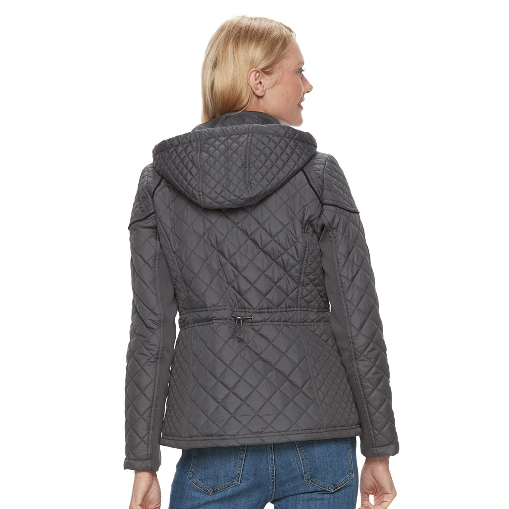 Women's Weathercast Quilted Hooded Jacket