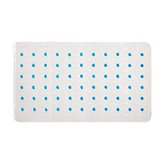 Kenney Semi Brushed Suction Cup Bath Mat