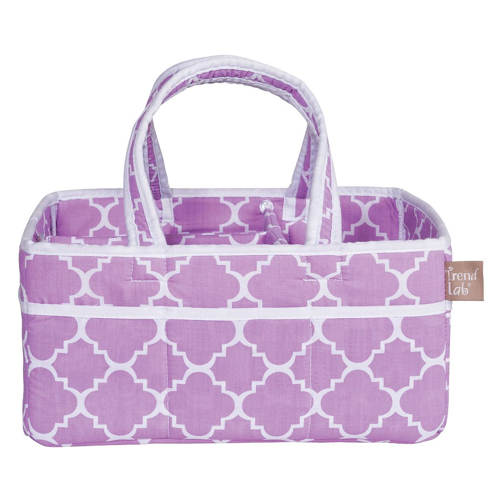 Trend Lab Quatrefoil Storage Caddy