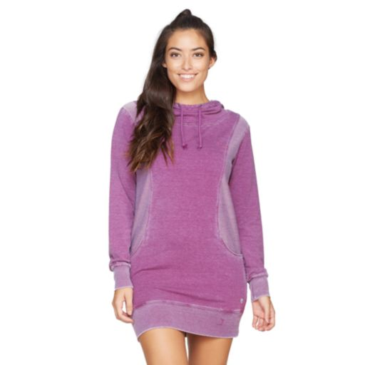 Women's Colosseum Highrise Hooded Dress Tunic