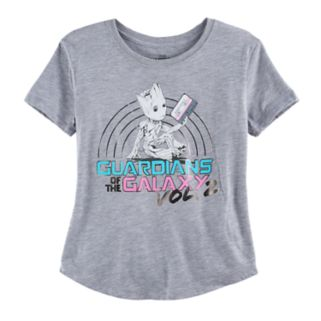 Girls 7-16 Guardians of the Galaxy Vol. 2 Groot Graphic Tee