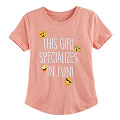 Girls 7-16 'This Girl Specializes in Fun' Graphic Tee