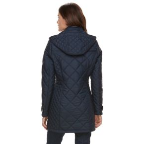Women's Weathercast Quilted Faux-Fur Lined Jacket
