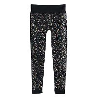 Girls 7-16 SO® Seamless Fleece-Lined Leggings