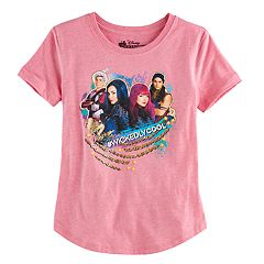 Disney's Descendants Mal, Evie, Carlos & Jay Girls 7-16 '#Wickedly Cool' Graphic Tee