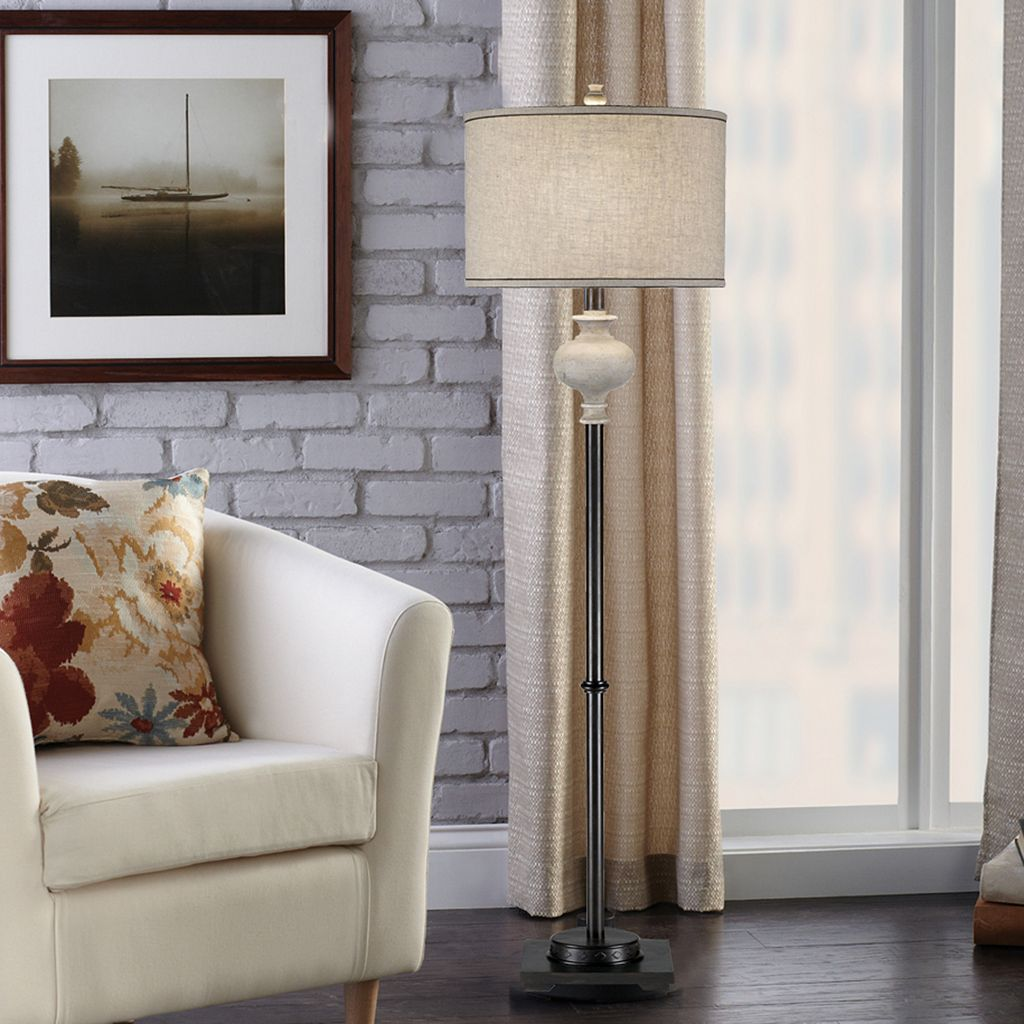 Catalina Lighting Contemporary Floor Lamp
