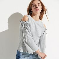 k/lab Cold Shoulder Sweatshirt