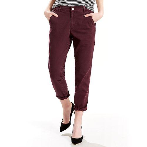 73cd7eefc74 Women's Levi's® Tapered Chino Pants