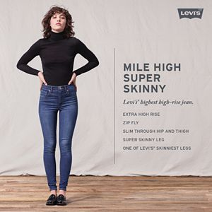 Women's Levi's® Mile High Waisted Super Skinny Jeans