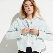 k/lab Cropped Jean Jacket
