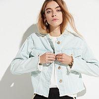 k/lab Cropped Jean Jacket