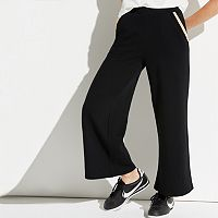 k/lab Sparkly-Trim Wide Leg Pants