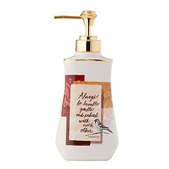 Saturday Knight, Ltd. Faithful Birds Soap Pump