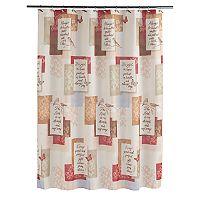 Saturday Knight, Ltd. Faithful Birds Shower Curtain