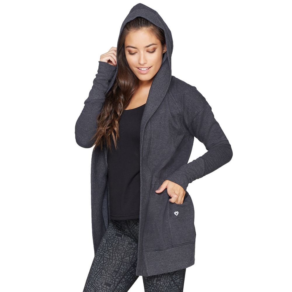 Colosseum One-Way Hooded Cardigan