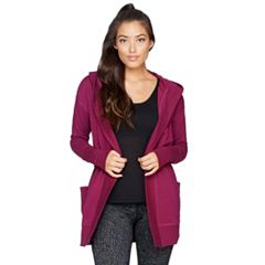 Women's Colosseum One-Way Hooded Cardigan