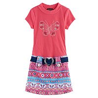 Girls 4-6x Lilt Short-Sleeved Butterfly Marsha Dress