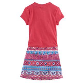 Girls 4-6x Lilt Short-Sleeved Butterfly Marsha Dress