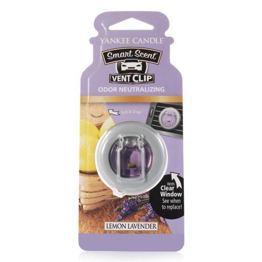 Yankee Candle Smart Scent Lemon Lavender Car Vent Clip