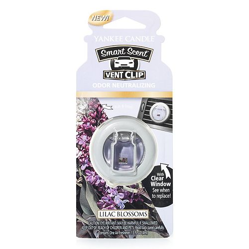 Yankee Candle Smart Scent Lilac Blossoms Car Vent Clip