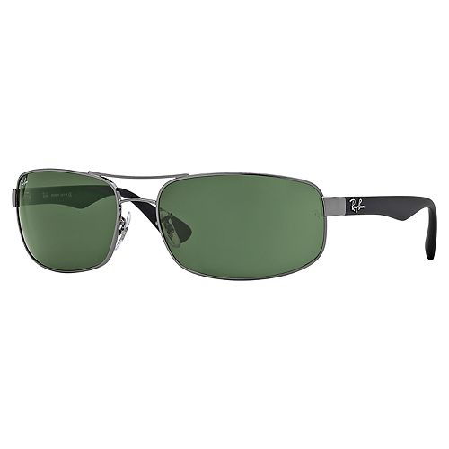 Ray-Ban RB3445 61mm Rectangle Sunglasses