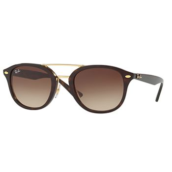 Ray-Ban Women's Highstreet Browbar Sunglasses