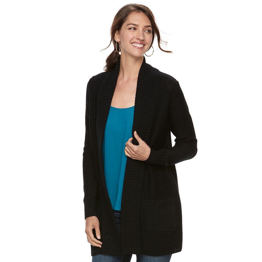 Apt. 9® Cozy Shawl Collar Cardigan