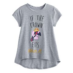 Girls 7-16 My Little Pony Twilight Sparkle 'If the Crown Fits Wear It' Graphic Tee