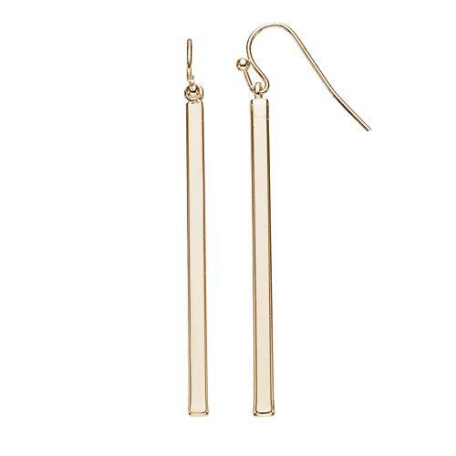 LC Lauren Conrad Stick Linear Drop Earrings