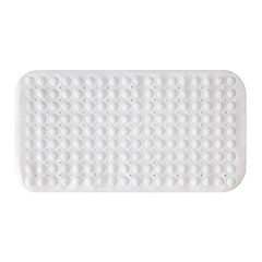 Kenney Bubble Suction Cup Plastic Bath Mat