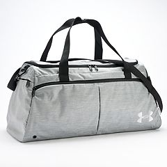 e9fd74d7e7 Under Armour Undeniable Medium Duffel Bag. Black Heather