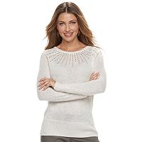 Women's Apt. 9® Sequin Crewneck Sweater