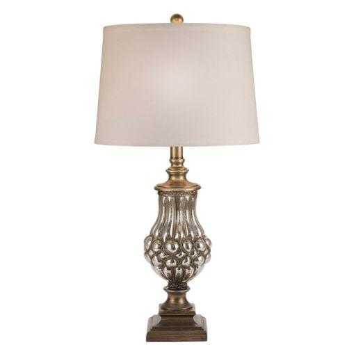 Catalina Lighting Mercury Glass Table Lamp