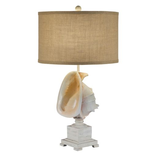 Catalina Lighting Artificial Shell Table Lamp