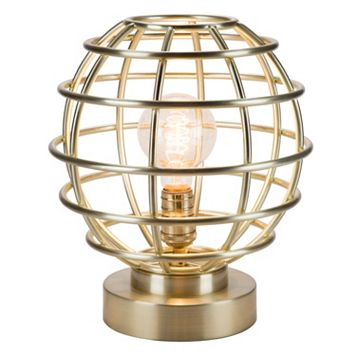 Catalina Lighting Metal Cage Table Lamp