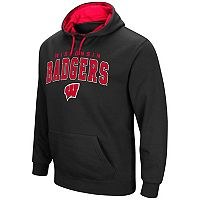 Men's Campus Heritage Wisconsin Badgers Wordmark Hoodie