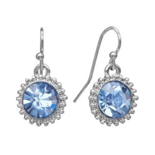 LC Lauren Conrad Starburst Drop Earrings