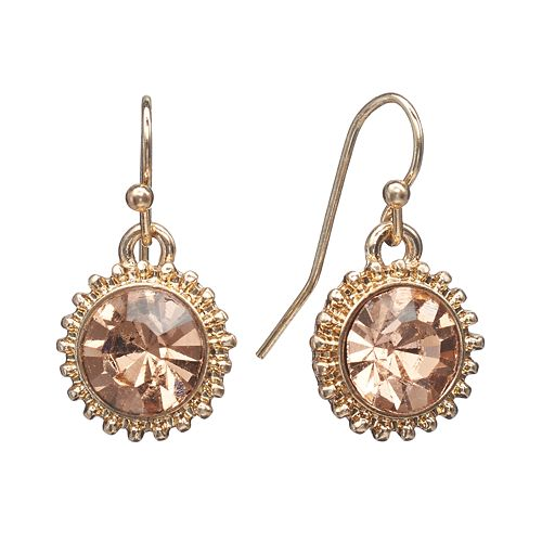 LC Lauren Conrad Starburst Drop Earrings