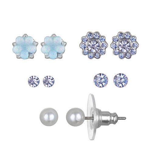 LC Lauren Conrad Flower Stud Earring Set