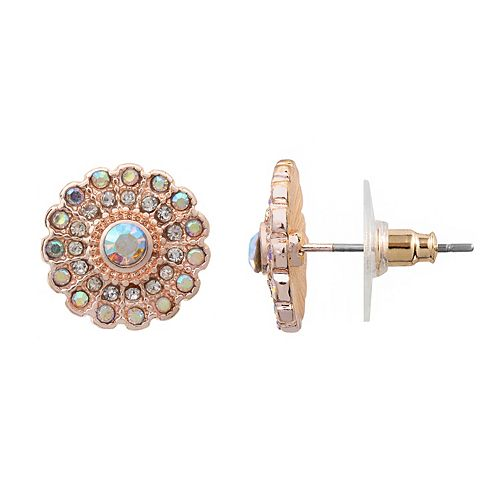 LC Lauren Conrad Starburst Stud Earrings