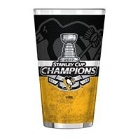 Boelter Pittsburgh Penguins 2017 Stanley Cup Champions Pint Glass