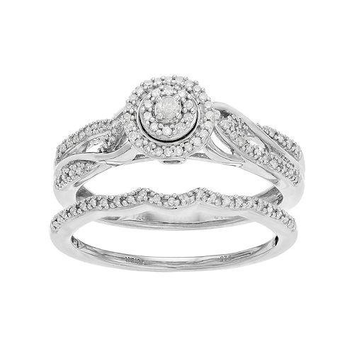 Always Yours 1/4 Carat T.W. Diamond Engagement Ring Set