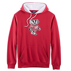 Men's Campus Heritage Wisconsin Badgers Logo Hoodie